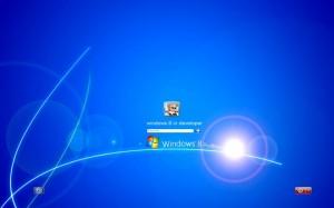 Anmeldebildschirm im Design von Windows 8