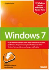 Franzis-Buch zu Windows 7