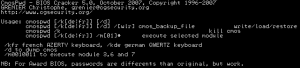 cmospwd löscht BIOS-Passwörter