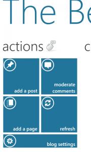 WordPress für Windows Phone 7