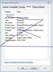 Screenshot von Windows 8 Milestone 2