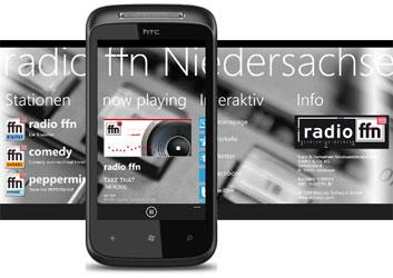 Radio ffn App für Windows Phone 7