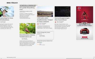 Werbung in der News-App in Windows 8