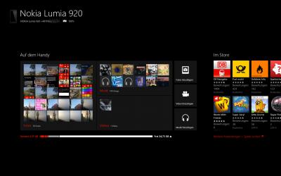 Die Windows Phone App für Windows 8Die Windows Phone App für Windows 8