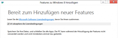 Windows 8 Media Center nachinstallieren