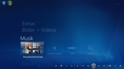 Das Windows Media Center in Windows 8Das Windows Media Center in Windows 8