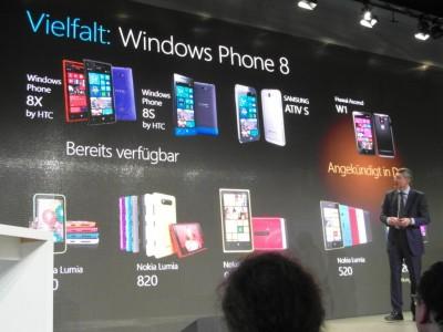 Windows Phone präsentation auf der CeBIT 2013