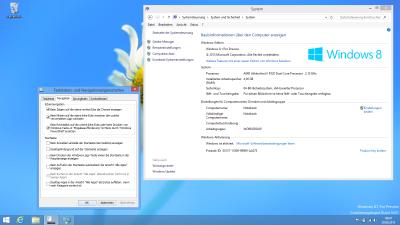 Die Einstellungen der Taskleiste bieten ein Zurück zum klassischen Windows
