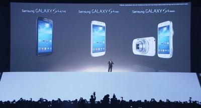 Die neuen Modelle der Samsung Galaxy S4 Serie