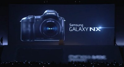 Die Android-Systemkamera Samsung Galaxy NX