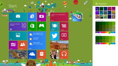 Neue Möglichkeiten zur Anpassung des Startbildschirms in Windows 8.1