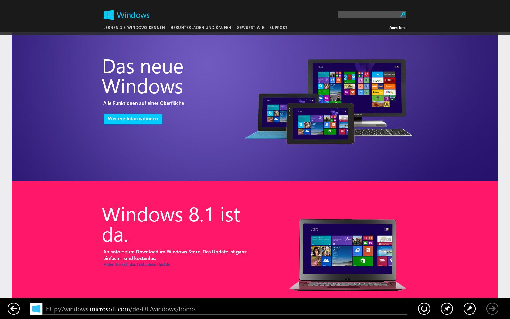 Windows 8.1 ist da - Das Upgrade von Windows 7 im Selbstversuch ...