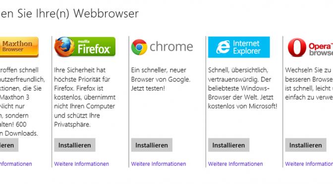 Der Internet Explorer verschwindet
