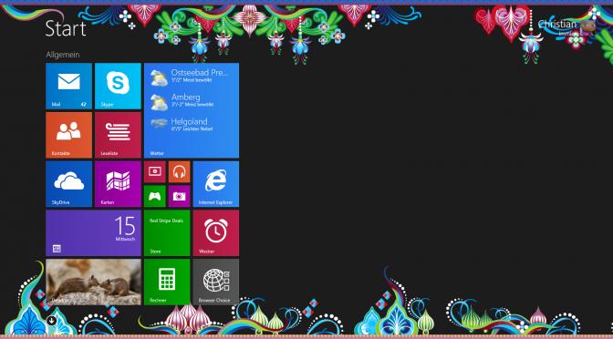 Bringt Windows 8.2 das Startmenü zurück?