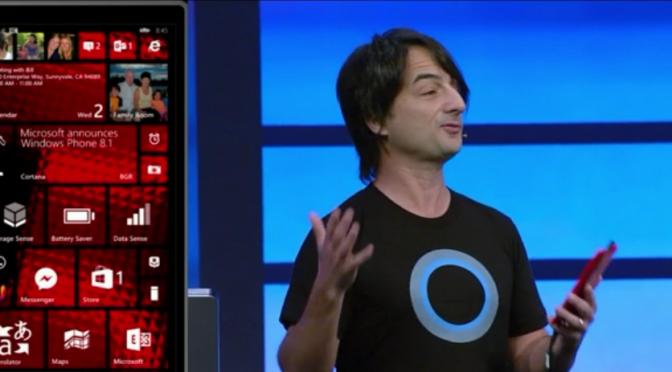 Microsoft stellt Windows Phone 8.1 vor