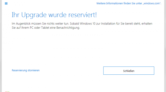 Ich will kein Windows 10!